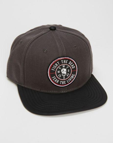 ccdf033804b The Walking Dead Fight Dead Fear Living Snapback Hat - PopCult Wear