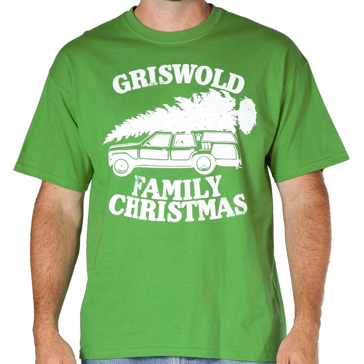 griswold family tree on car national lampoons christmas vacation t shirt popcult wear