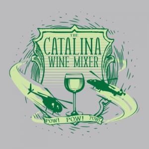 Catalina Wine Mixer Pow Pow Pow Hoodie