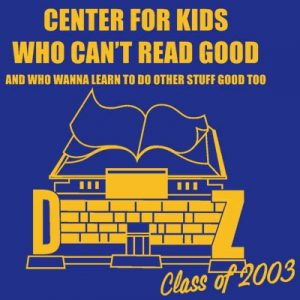 Center for Kids Who Cant Read Good Zoolander T Shirt