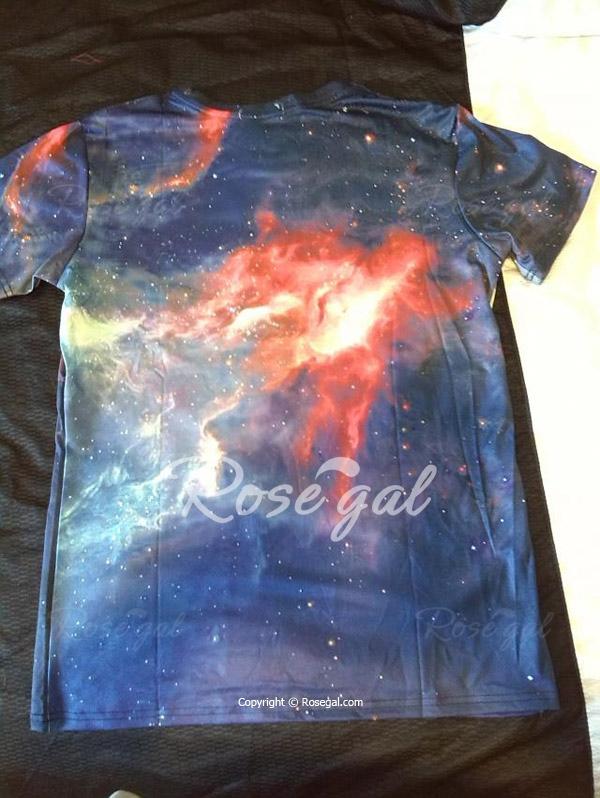 Dragon Ball Z God Mode Goku Fan Art T Shirt Back