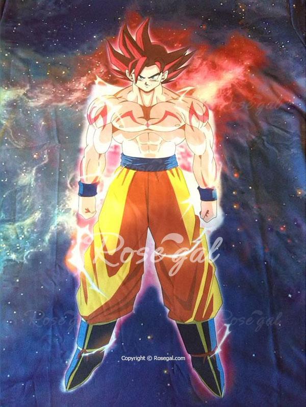 Dragon Ball Z God Mode Goku Fan Art T Shirt