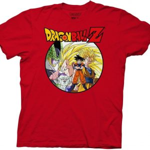 Dragon Ball Z Saiyan Group With Enemies T Shirt