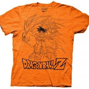 Dragonball Z Goku Collage Outline T Shirt