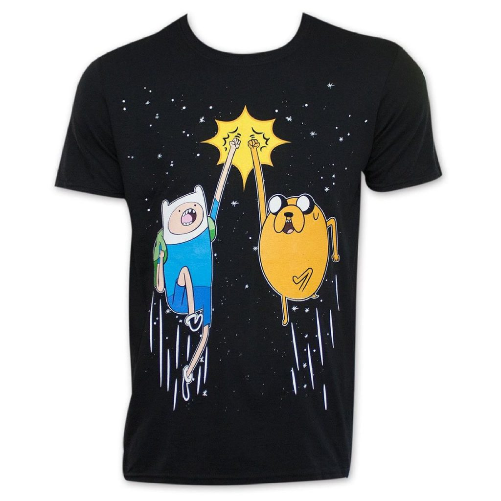 Finn Jake Space Fist Pump T shirt