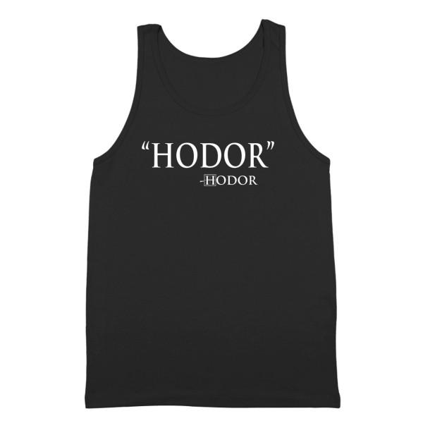 Hodor by Hodor Quote Game of Thrones Tank Top