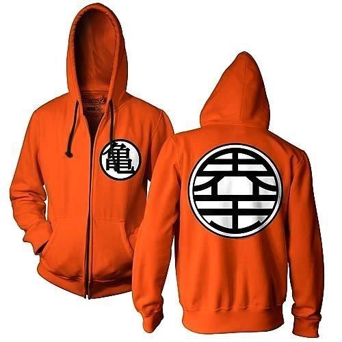 Kame Symbol Zip Up Hoodie Sweatshirt
