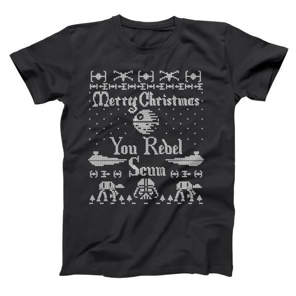 Merry Christmas You Rebel Scum T Shirt