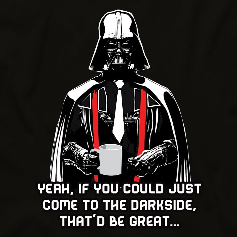 Office Space Darth Vader T Shirt