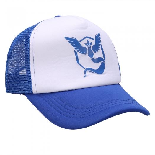 Pokemon GO Team Valor Mystic Instinct Snapback Baseball Hat Blue Mystic