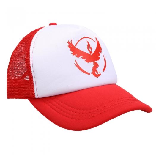Pokemon GO Team Valor Mystic Instinct Snapback Baseball Hat Red Valor