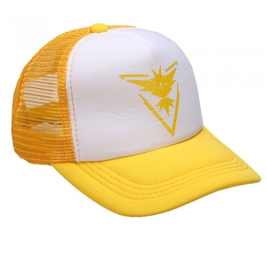 Pokemon GO Team Valor Mystic Instinct Snapback Baseball Hat Yellow Instinct