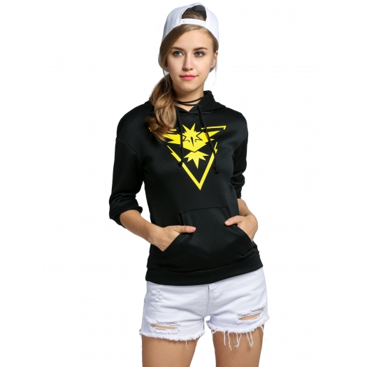 Pokemon Go Team Valor Mystic Instinct Ladies Hoodie Instinct 1