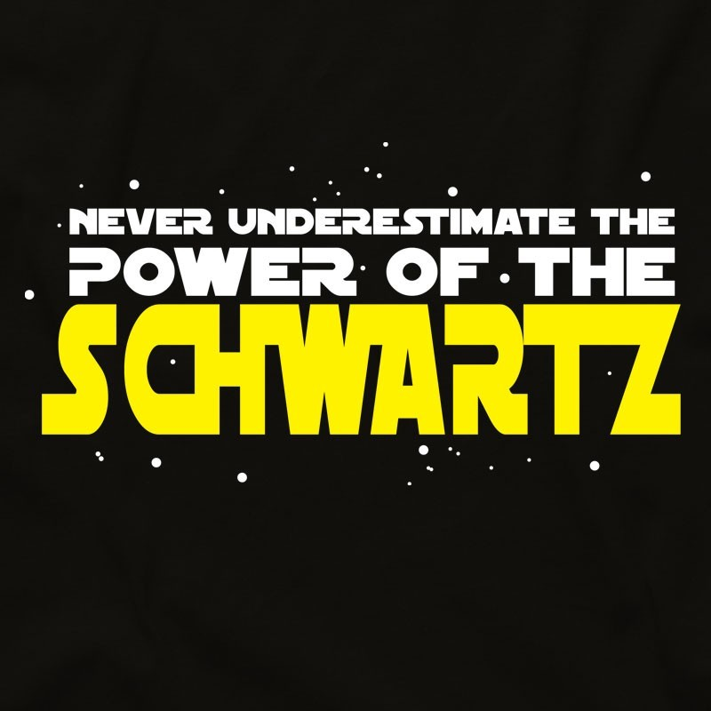 Power of the Schwartz Spaceballs T Shirt