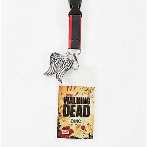 The Walking Dead Fear The Living Lanyard Zoom