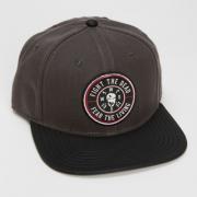 The Walking Dead Fight Dead Fear Living Snapback Hat - PopCult Wear 1127b4196e7