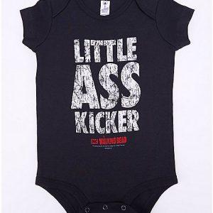 The Walking Dead Little Ass Kicker Baby Onesie Front