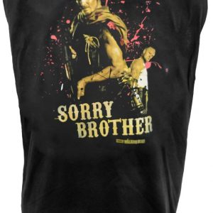 The Walking Dead Sorry Brother Tank Top T Shirt