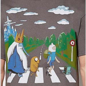 Adventure Time Abbey Road T Shirt Zoom