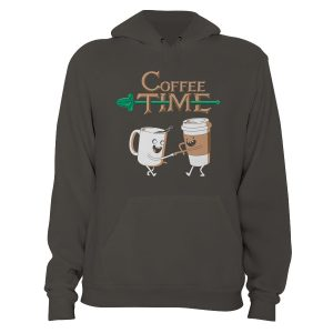 Adventure Time Style Coffee Time Hoodie