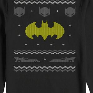 Batman Faux Ugly Christmas Sweater
