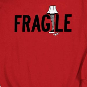 Christmas Story Fragile Leg Lamp Sweatshirt