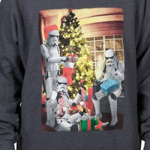 Darkside Christmas Faux Ugly Sweater