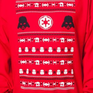 Darth Vader Empire Star Wars Faux Ugly Christmas Sweater