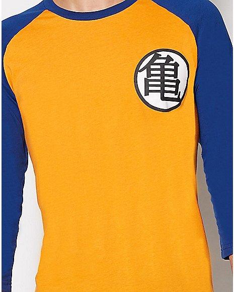 Dragon Ball Z Goku King Kai Raglan T Shirt Zoom