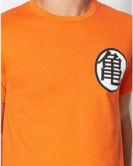 Dragon Ball Z Goku Symbol T Shirt Zoom