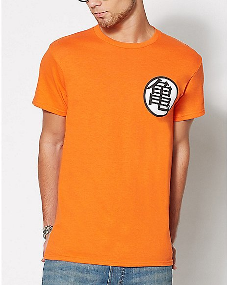 Dragon Ball Z Goku Symbol T Shirt