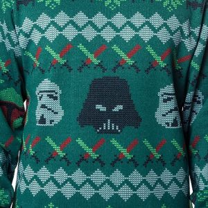 Galactic Empire Sublimated Faux Christmas Sweater