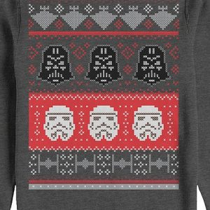 Galactic Helmets Faux Ugly Christmas Sweater