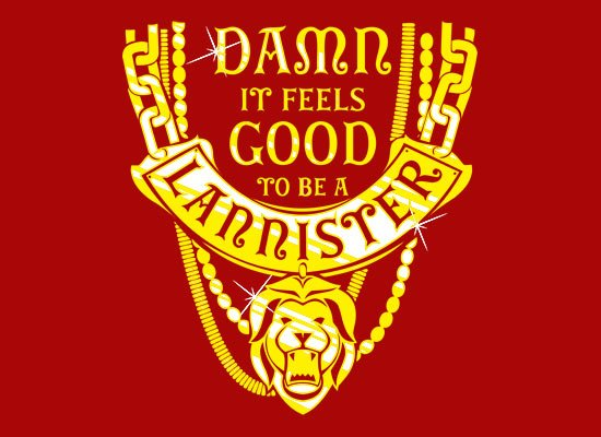 GoT Damn It Feels Good To Be A Lannister Hoodie Image2