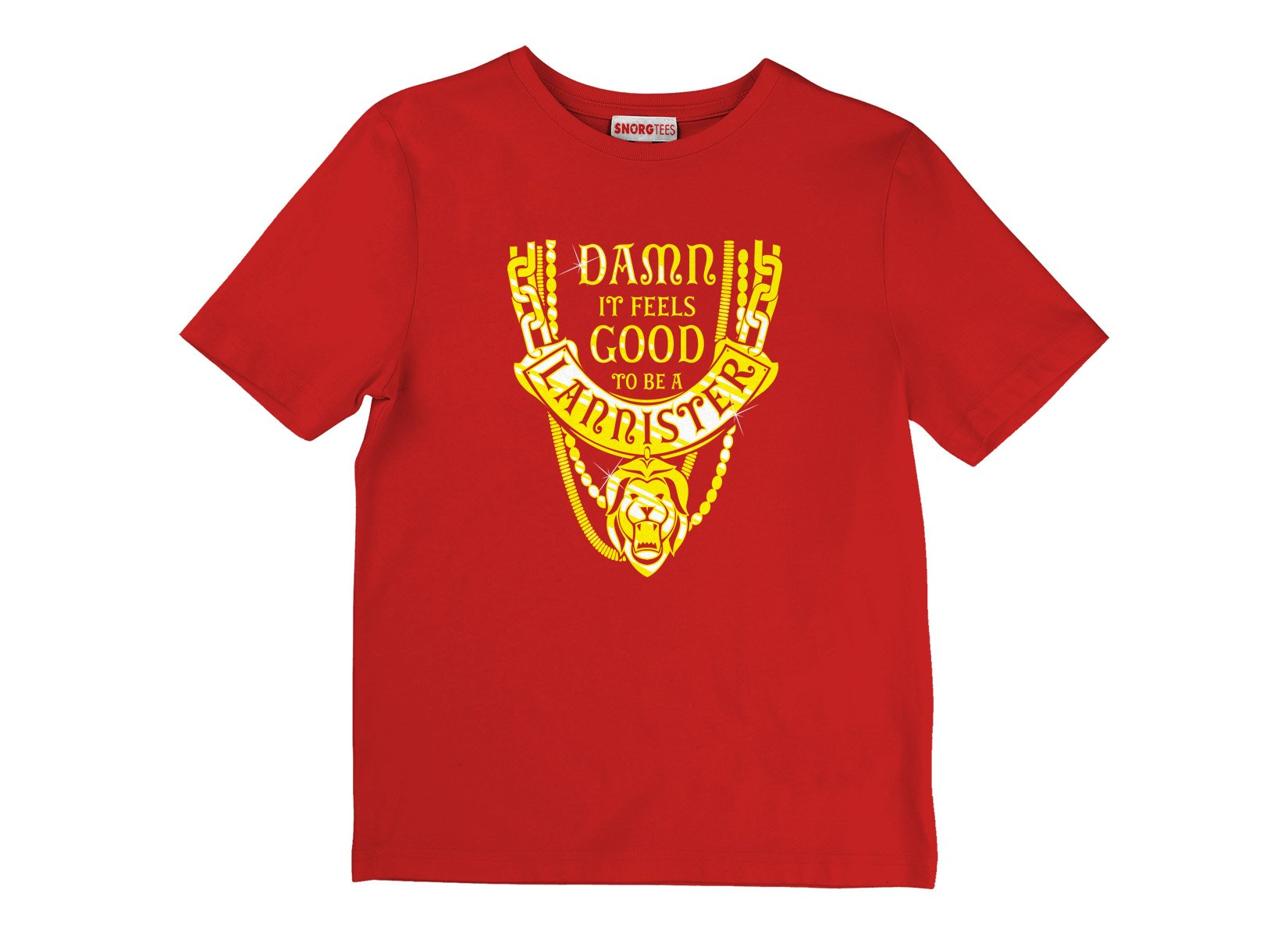 GoT Damn It Feels Good To Be A Lannister T Shirt Image2