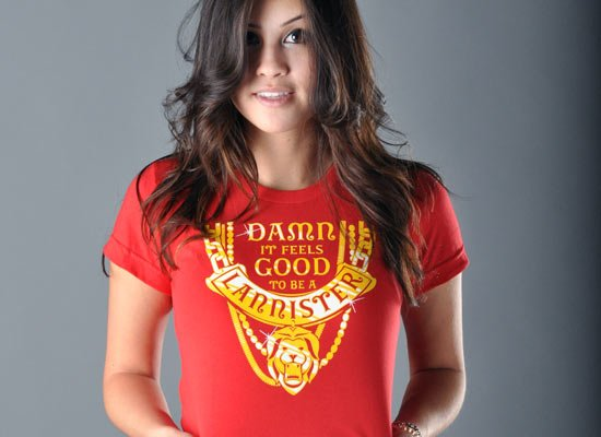 GoT Damn It Feels Good To Be A Lannister T Shirt Image3
