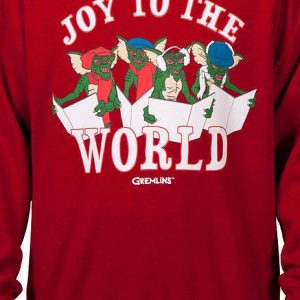 Gremlins Christmas Carols Faux Ugly Sweater