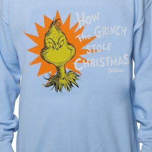 Grinch Stole Christmas Faux Ugly Sweater