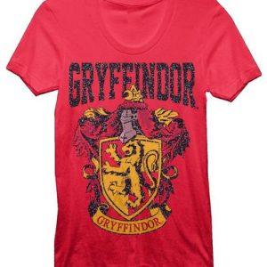 Harry Potter Gryffindor Juniors Red T shirt