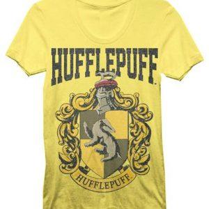 Harry Potter Hufflepuff House Juniors T shirt