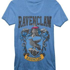 Harry Potter Ravenclaw House Juniors Blue T shirt