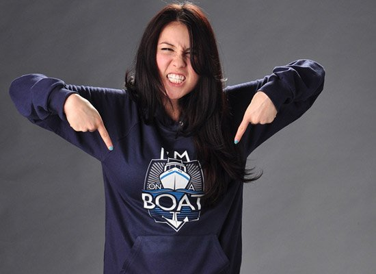 Im on a Boat the Lonely Island Hoodie Image2