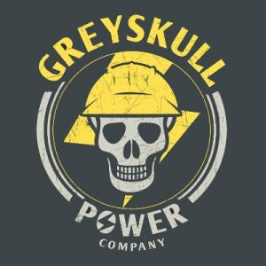 Masters of the Universe Greyskull Power Company T Shirt
