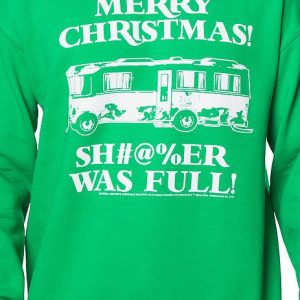 Merry Christmas Shitter Was Full Sweatshirt