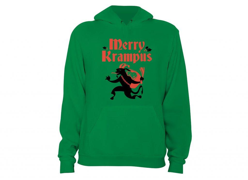 Merry Krampus Hoodie Variation 2