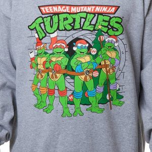 Ninja Turtles Sewer Faux Christmas Sweater