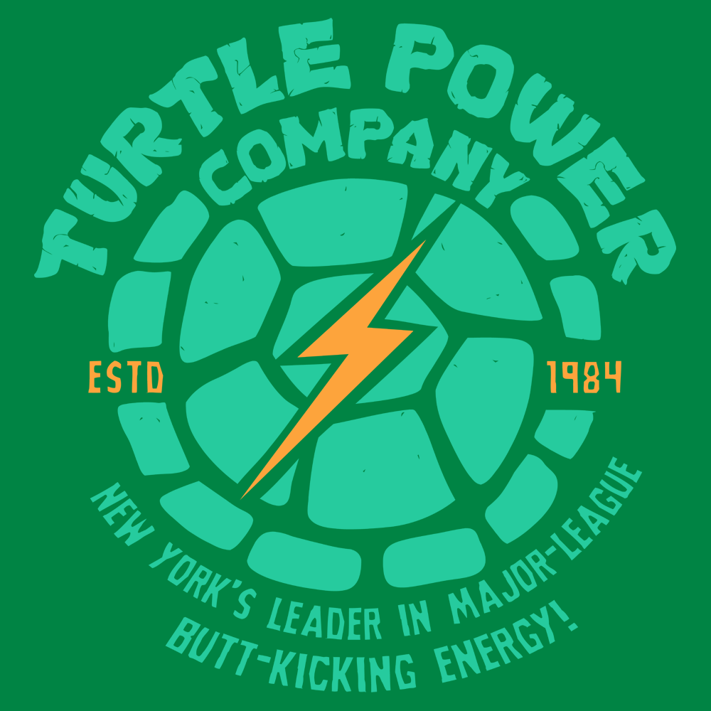 Ninja Turtles Turtle Power Company T Shirt