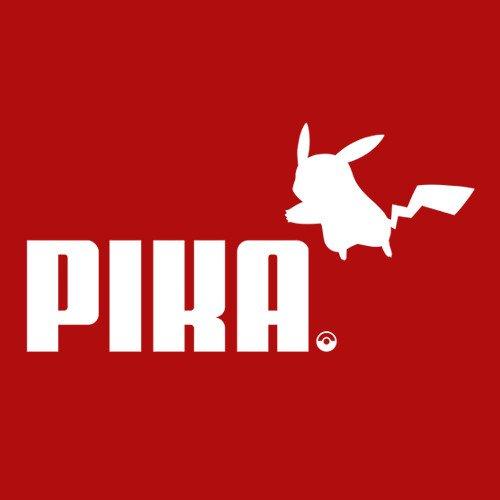 Pikachu Pika Puma T Shirt