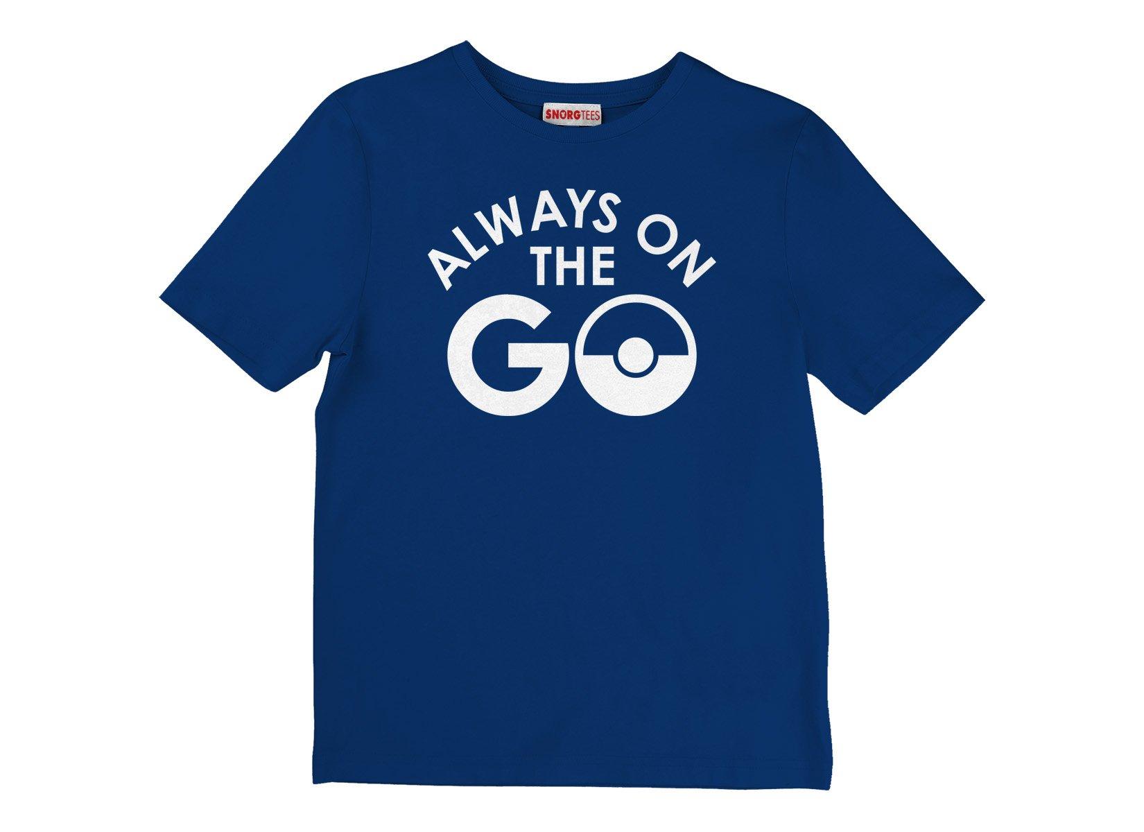 Pokemon Go Always on the Go T Shirt Image2