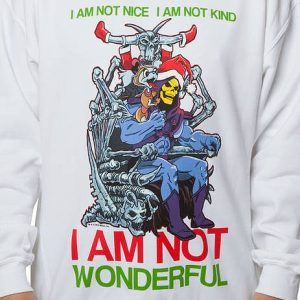 Skeletor Faux Ugly Christmas Sweater